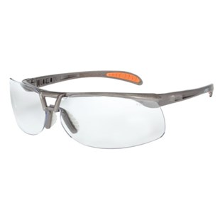 Uvex S4210 Protege® Safety Glasses Sandstone Frame with Clear Anti-Scratch Lens