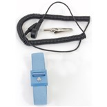 Static Solutions WS-1020 Elastic Adjustable Wrist Strap and 10' Cord