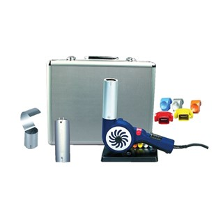 Steinel HB1750 Heat Gun Kit with Free Silver Case and Accessories, Temp Range 200°F to 1200°F