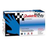 QRP BQY09 Qualatrile® Indy Nitrile Gloves, Powder Free, Small, 100/Box