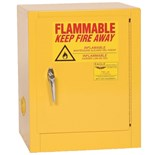 "Eagle 1904 Flammable Liquid Safety Storage Cabinet, 4 Gal. Capacity, 17-1/2"" W x 18"" D x 22-1/2"" H"