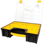 "Stanley 014710R Parts Organizer with 10-Compartments, 16-1/2"" x 13-1/4"" x 4-3/16"""