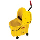 Rubbermaid 7577-88 WaveBrake® Mop Bucket and Wringer System, 35 qt.