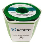 Kester 1470680125 Solder Wire, Solid Core, Lead Free, Sn96.5Ag3Cu0.5, Solid, 0.125 in (3.20 mm), Solid Series