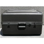 Jensen Tools DX2517-14BK No Foam Black Shipping Case w/ Wheels and Pullout Handle