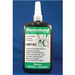 Permabond HM160 Retaining Compound, Green, 250 ml Bottle