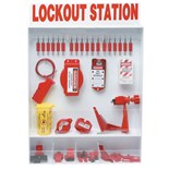 Brady 99696 Extra-Large Enclosed Lockout Station with Components