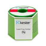 Kester 25-7070-6411 Solder Wire, Water Soluble, Lead Free, Sn95Ag05, 3.3%, 0.062 in (1.50 mm), 331 Series