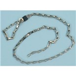 """Static Solutions DC-4631 Drag Chain, 24""""  with 7mm socket"""