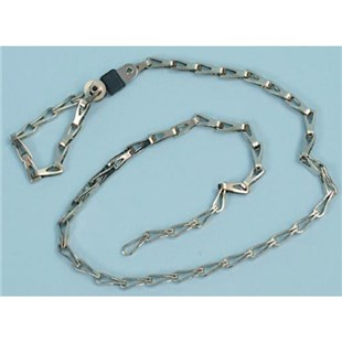 "Static Solutions DC-4631 Drag Chain, 24""  with 7mm socket"