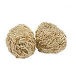 Weiler T0051384099 Dry Tip Cleaner Replacement Brass Wool, 2/Pack