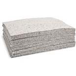 "Brady SPC RFP100 Absorbent Plus Pad Perforated, Heavy Weight, 40 Gallons/Case, 15"" x 19"", 100/Case"