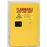 "Eagle 1925 Flammable Liquid Safety Storage Cabinet, 12 Gal. Capacity, 23"" W x 18"" D x 35"" H"