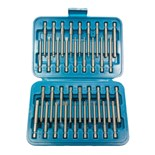 "Jensen Tools 24379 36-Pc 1/4"" Drive Power Bit Set in Box"