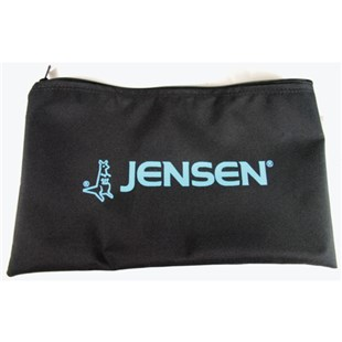"Jensen Tools X6724JT All-Purpose Canvas Storage Bag with Zipper, 9"" x 15"""