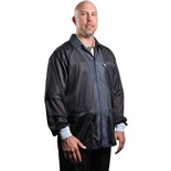 Desco 73864 Statshield® Static Dissipative Black Jacket, XLarge