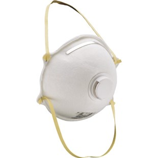 PIP 270-2050 N95 Particulate Respirator Face Mask with Valve, 10/Box