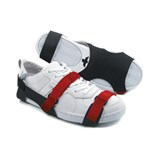Botron B7505-R Full Coverage Sole Grounder, Small (Red Straps)