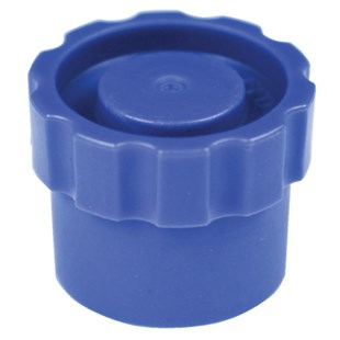 EFD 7012198 Snap-On Tip Cap, Blue, 50/Box