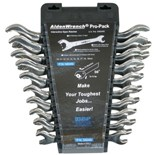 Chicago Brand 56049 10pc. Open-End Ratchet Wrench Set - Metric