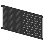 "Production Basics 8792 Peg Board/Bin Panel Eclosure, 60"" x 20"""