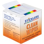 Sticklers MCC-WCS100 CleanWipes™ 600 Portable Cleaning Wipes, 600 Cleans / Box