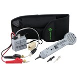 Greenlee Communications 701K-G/6A Professional Tone & Probe Tracing Kit with ABN Test Clips