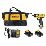 Dewalt DCF610S2 DeWALT® 12V MAX Lithium Ion Compact Screwdriver Kit