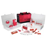 Masterlock 1458E1106 Lockout/Tagout Electrical Kit with Aluminum Locks