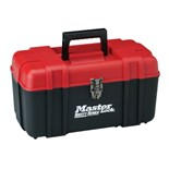 "Masterlock S1017 17"" Wide Personal Lockout Toolbox"