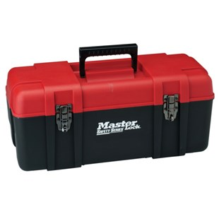 """Masterlock S1023 23"""" Wide Personal Lockout Toolbox"""
