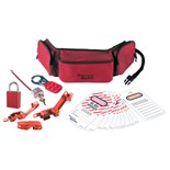 Masterlock 1456E1106 Personal Lockout Pouch Kit - Electrical - Aluminum Locks