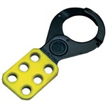 "Brady T218 Yellow Lockout Hasps (1"" Diameter Jaws)"