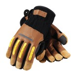 PIP 120-4100 Maximum Safety® Journeyman Kevlar® Gloves, Medium, Pair