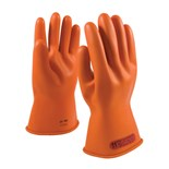 "PIP 147-0-11/9 NOVAX® Rubber Electrical Insulating Gloves, Class 0, Size 9, 11"", Pair"