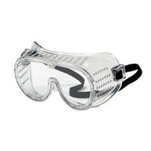 CRW2220 Safety Goggles with Clear Lens and Perforated Sides