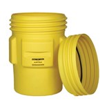 Eagle 1690 Poly Spill Containment Drum, Overpack with Screw-On Lid, 95 Gallon Total Capacity