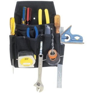 Custom Leather Craft 5505 11 Pocket Professional Tool Pouch