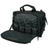 "Custom Leather Craft 1539 18"" Multi-Compartment Tool Bag"