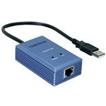 1210320 TRENDnet USB 2.0 to 10/100Mbps Fast Ethernet Adapter