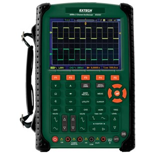 Extech MS6060 2-Channel Oscilloscope, 60MHz