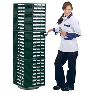 Treston 12-550ESD ESD Spacemiser - Holds 12 qty 551-4ESD or 554-4ESD small parts cabinets (sold separately)