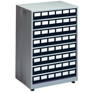 """Treston 4840ESD ESD-Safe Parts Cabinet with 24 Drawers, 16.14"""" D x 23.82"""" W x 34.25"""" H"""