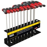 Klein JTH610E 10 pc SAE Journeyman™ T- Handle Set with Stand