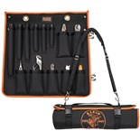 Klein 33525SC Utility Insulated 13-Piece Tool Kit with Roll-Up Case
