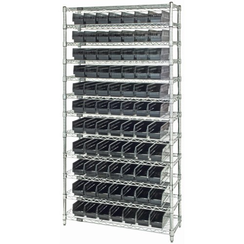 Quantum Storage Systems Esd Safe Wire Shelving Units With