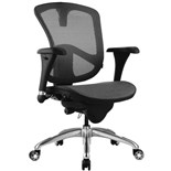 Bevco M6088MM Ergonomic Chair, Mesh Back with Mesh Seat