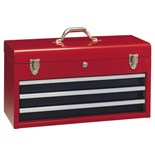 Genius Tools TS-123 3-Drawer Tool chest