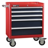 Genius Tools TS-465 5-Drawer Roller Cabinet