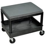 "Luxor MS21-B Mobile Maintenance Seat / Creeper, 24"" x 18"" x 20"""